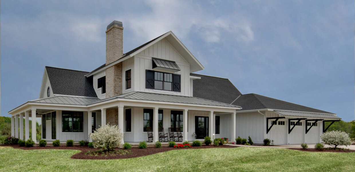 Meiste homes southern charm modern farmhouse Modern custom home builders